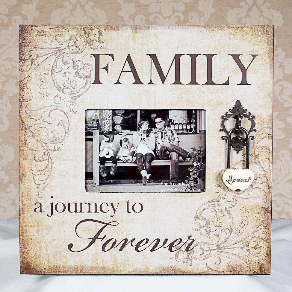 Family Photo Frame Lovelocks