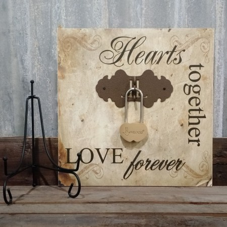 Hearts Together Plaque