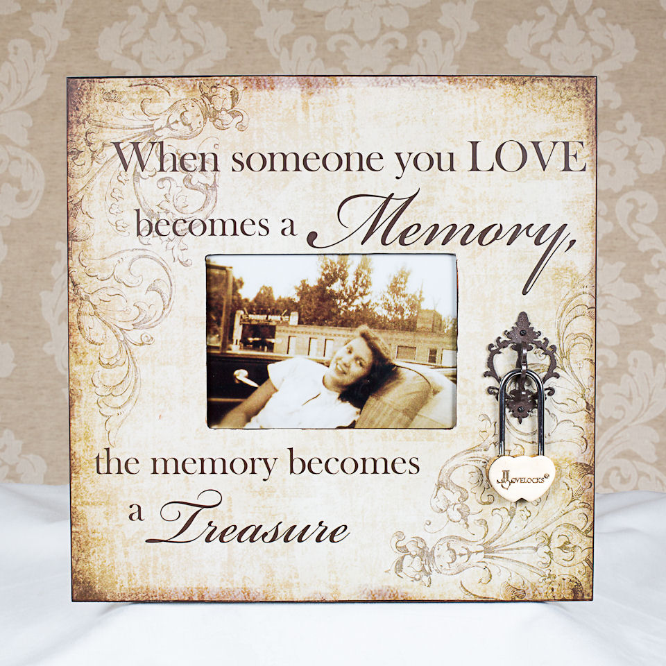 In Memory Of Photo Frame – Lovelocks