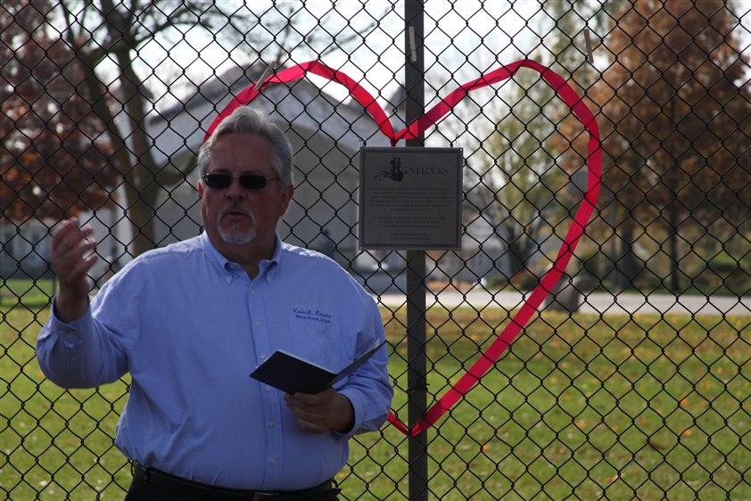 LoveLocks in Orion, IL.