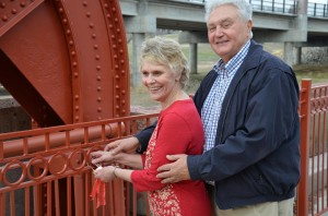 Make Love Locks on the Old Red Bridge