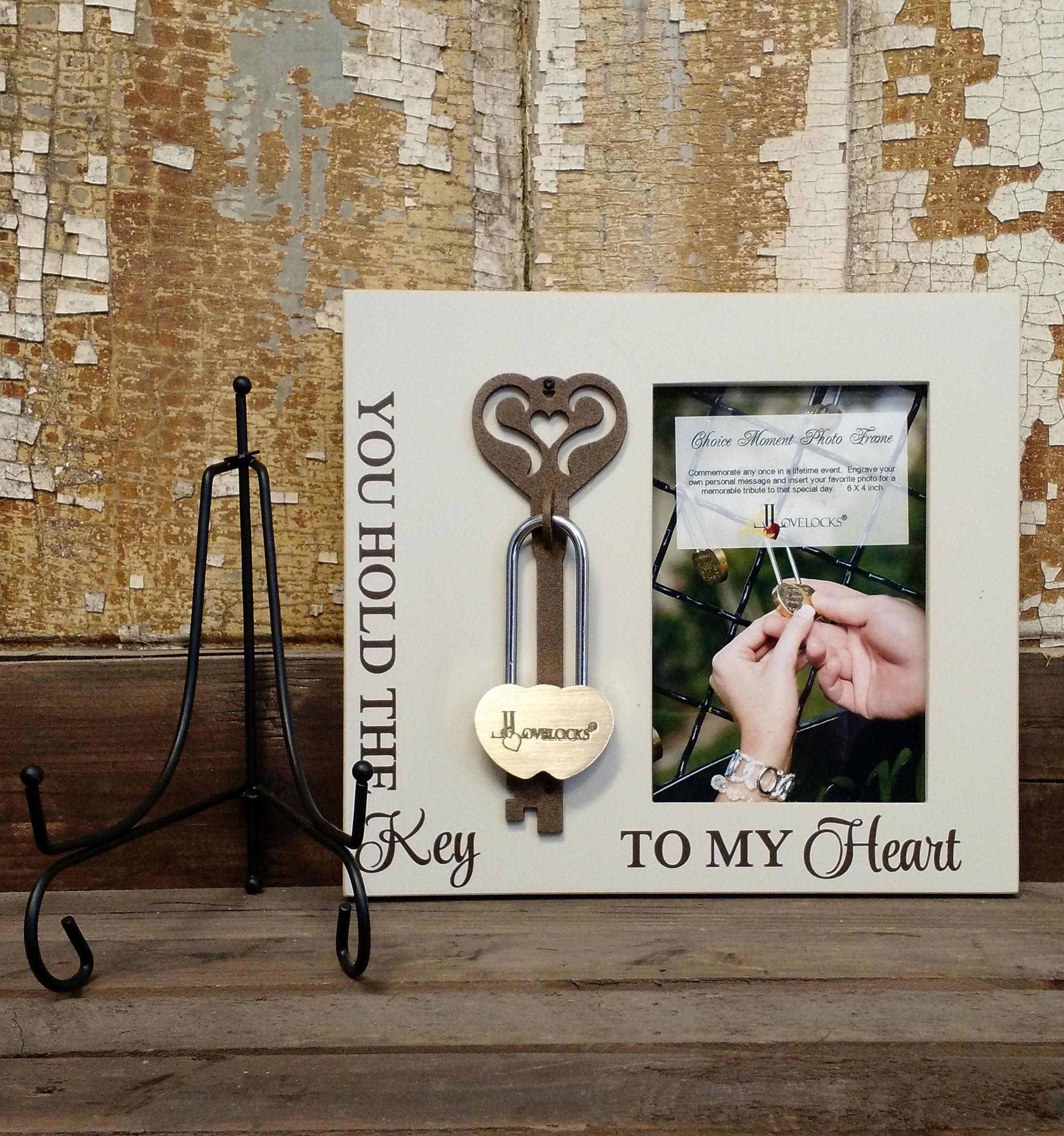 LoveLocks® Key To My Heart Photo Frame – Lovelocks