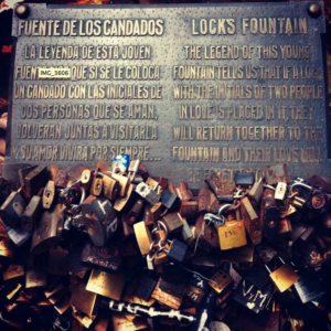 LoveLocks in Uruguay