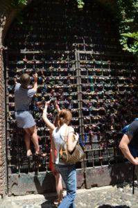 Romeo & Juliet PLove Padlocks