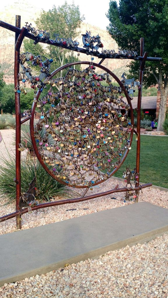 Lock Your Love in Zion National Park