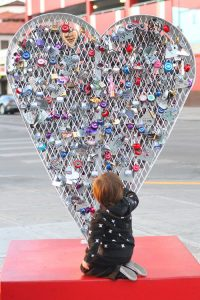 LoveLock Heart in Vegas