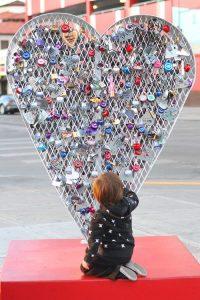 LoveLock Heart in Vegas