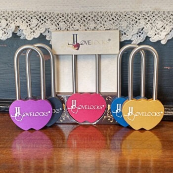 colored padlocks
